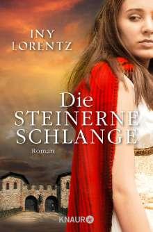 Iny Lorentz: Die steinerne Schlange, Buch