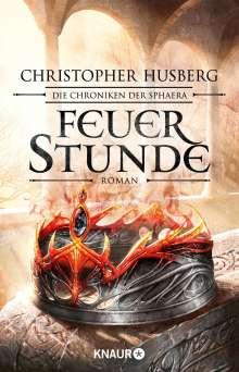 Christopher B. Husberg: Feuerstunde, Buch