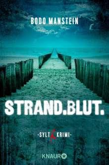 Bodo Manstein: Strand.Blut., Buch