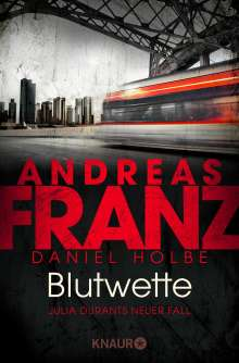 Andreas Franz: Blutwette, Buch