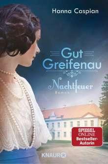 Hanna Caspian: Gut Greifenau - Nachtfeuer, Buch