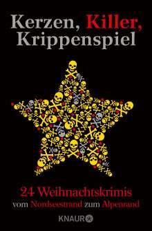 Regine Kölpin: Kerzen, Killer, Krippenspiel, Buch