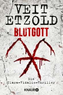 Veit Etzold: Blutgott, Buch
