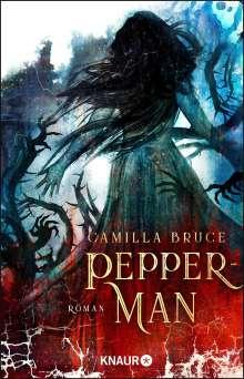 Camilla Bruce: Pepper-Man, Buch