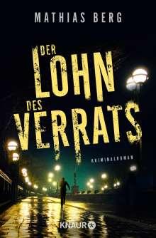Mathias Berg: Der Lohn des Verrats, Buch