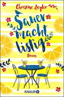 Christine Ziegler: Sauer macht listig, Buch