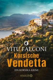 Vitu Falconi: Korsische Vendetta, Buch