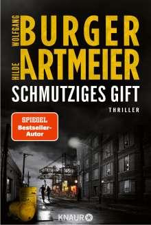 Wolfgang Burger: Schmutziges Gift, Buch