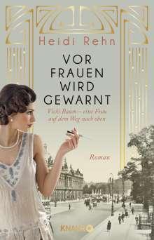 Heidi Rehn: Vor Frauen wird gewarnt, Buch