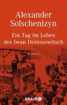 Alexander Solschenizyn: Ein Tag im Leben des Iwan Denissowitsch, Buch