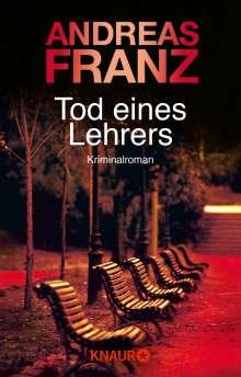 Andreas Franz: Tod eines Lehrers, Buch