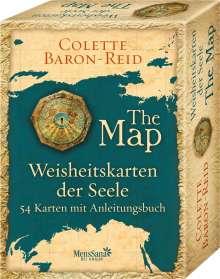Colette Baron-Reid: Weisheitskarten der Seele - The Map, Buch