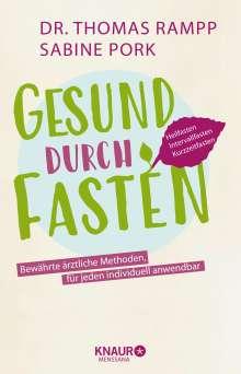 Thomas Rampp: Gesund durch Fasten, Buch