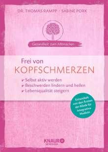Thomas Rampp: Frei von Kopfschmerzen, Buch