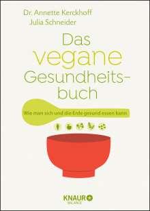 Annette Kerckhoff: Das vegane Gesundheitsbuch, Buch