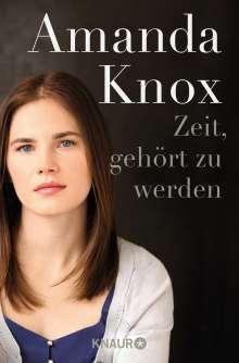 Amanda Knox: Zeit, gehört zu werden, Buch
