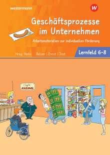 Jürgen Balzer: Café Krümel. Arbeitsbuch Lernfelder 6-8 Arbeitsmaterialien zur individuellen Förderung, Buch