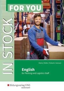 Kirsten Kleine: In Stock For You. Schülerband, Buch