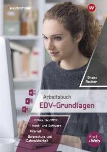 Christoph Rauber: Arbeitsbuch EDV-Grundlagen - Windows 10 und MS-Office 2019, Buch