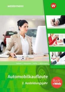 Detlef Gebert: Automobilkaufleute. 2. Ausbildungsjahr: Schülerband, Buch