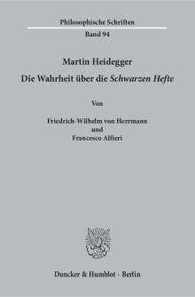 Friedrich-Wilhelm von Herrmann: Martin Heidegger, Buch