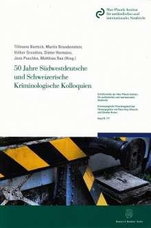 50 Jahre Südwestdeutsche und Schweizerische Kriminologische Kolloquien, Buch