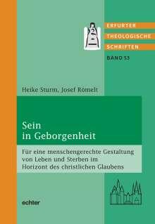 Heike Sturm: Sein in Geborgenheit, Buch