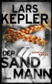 Lars Kepler: Der Sandmann, Buch