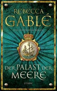 Rebecca Gablé: Der Palast der Meere, Buch