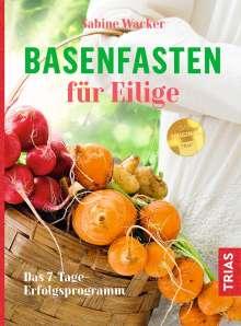 Sabine Wacker: Basenfasten für Eilige, Buch
