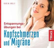 Karin Wolf: Entspannungsübungen bei Kopfschmerzen und Migräne, CD