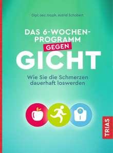 Astrid Schobert: Das 6-Wochen-Programm gegen Gicht, Buch