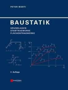 Peter Marti: Baustatik, Buch