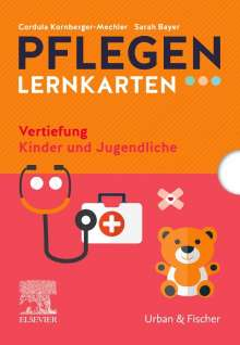 Cordula Kornberger-Mechler: PFLEGEN Lernkarten Vertiefung Kinder und Jugendliche, Buch