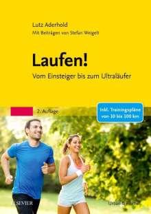 Lutz Aderhold: Laufen!, Buch