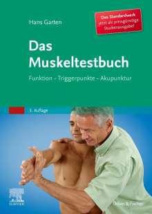 Hans Garten: Das Muskeltestbuch (Studienausgabe), Buch