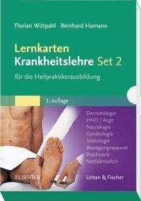 Florian Wittpahl: Lernkarten Krankheitslehre Set 2 für die Heilpraktikerausbildung, Diverse