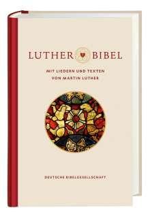 Lutherbibel revidiert 2017 - mit Liedern und Texten von Martin Luther, Buch