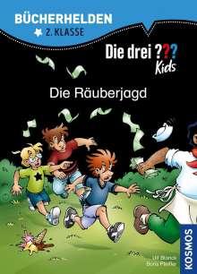 Ulf Blanck: Die drei ??? Kids, Bücherhelden, Die Räuberjagd (drei Fragezeichen), Buch
