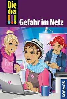 Kari Erlhoff: Die drei !!! 68. Gefahr im Netz (drei Ausrufezeichen), Buch
