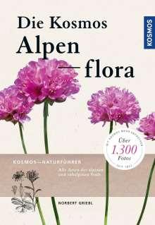 Norbert Griebl: Kosmos Alpenflora, Buch