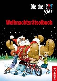 Ulf Blanck: Die drei ??? Kids Weihnachtsrätselbuch, Buch