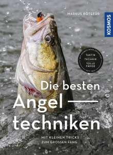 Markus Bötefür: Die besten Angeltechniken, Buch