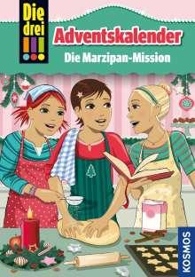 Maja von Vogel: Die drei !!!, Die Marzipan-Mission, Buch