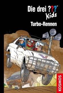Boris Pfeiffer: Die drei ??? Kids, 81, Turbo-Rennen, Buch
