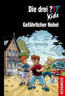 Ulf Blanck: Die drei ??? Kids, 80, Gefährlicher Nebel, Buch