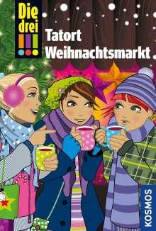 Maja von Vogel: Die drei !!!, Tatort Weihnachtsmarkt, Buch