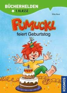 Ellis Kaut: Pumuckl, Bücherhelden 1. Klasse, Pumuckl feiert Geburtstag, Buch
