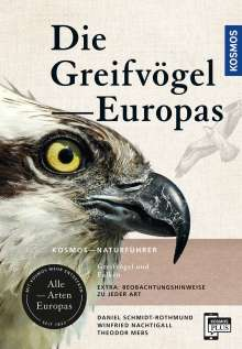 Theodor Mebs: Greifvögel Europas, Buch