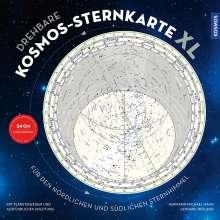 Hermann-Michael Hahn: Drehbare Kosmos-Sternkarte XL, Diverse